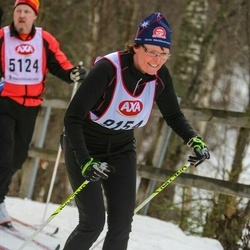Skiing 45 km - Helena Högblad (9154)