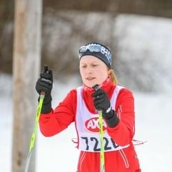 Skiing 45 km - Sara Svensson (7228)