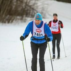 Skiing 45 km - Ola Bergström (7401)