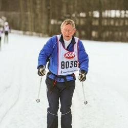 Skiing 45 km - Hans Sylvén (8036)