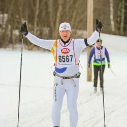 Skiing 45 km - Mats Lundmark (6567)
