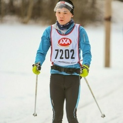 Skiing 45 km - Simon Hwang Bursjö (7202)