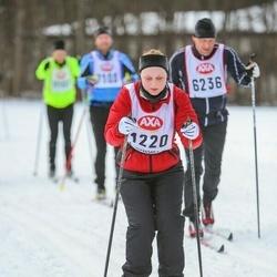 Skiing 45 km - Johanna Lantto (1220)