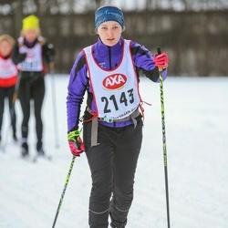 Skiing 45 km - Andrea Hansson (2143)
