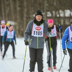 Skiing 45 km - Ronald Eriksson (3105)