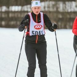 Skiing 45 km - Sandra Hammarbäck (5041)