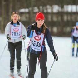 Skiing 45 km - Susanna Lindqvist (6538)