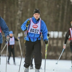 Skiing 45 km - Thomas Danielsson (6032)