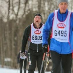 Skiing 45 km - Nils Vallin (6603)