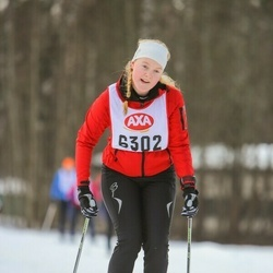 Skiing 45 km - Elin Tegnesjö (6302)