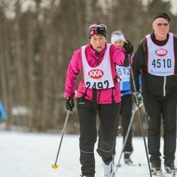Skiing 45 km - Lillemor Svensson (2492)