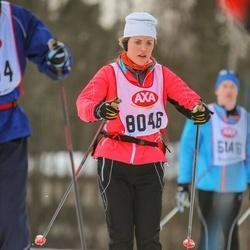 Skiing 45 km - Elin Chevalier (8046)
