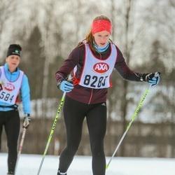 Skiing 45 km - Sarah-Jane Barrable (8283)
