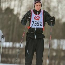 Skiing 45 km - Oscar Törnqvist (7592)