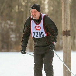 Skiing 45 km - Mikael Larsson (7290)