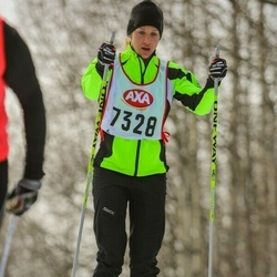 Skiing 45 km - Ellinor Gribbe (7328)
