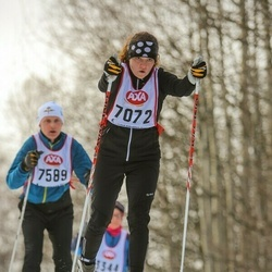 Skiing 45 km - Elin Petre (7072)