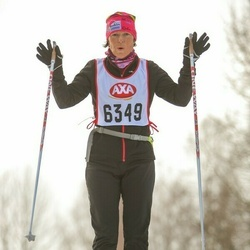 Skiing 45 km - Ann Wahlstrand (6349)