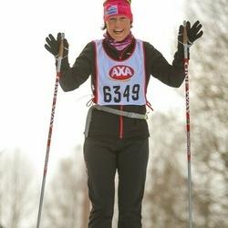 Skiing 45 km - Ann Wahlstrand (6349)