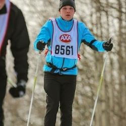 Skiing 45 km - Johan Wall (8561)