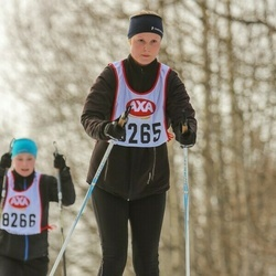 Skiing 45 km - Louise Bergström Östling (8265)