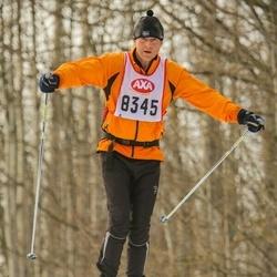 Skiing 45 km - Anders Thorslund (8345)