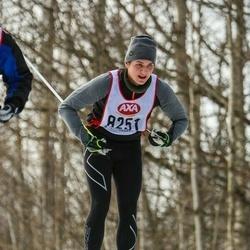 Skiing 45 km - Fredrik Tiilama (8251)