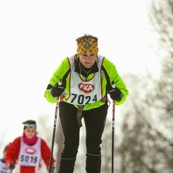 Skiing 45 km - Anna Richaud (7024)