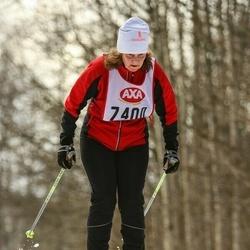 Skiing 45 km - Anna-Britta Karlsson (7400)