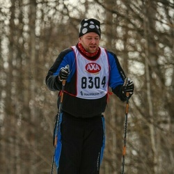 Skiing 45 km - William Andersson (8304)