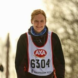 Skiing 45 km - Malin Edvardsson (6304)