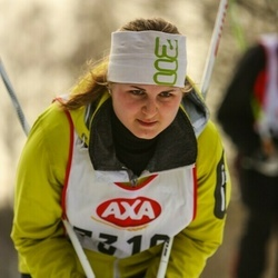 Skiing 45 km - Madelene Jonsson (7319)