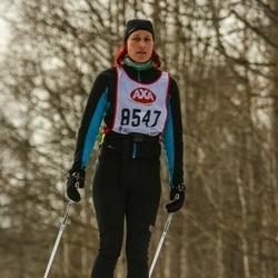 Skiing 45 km - Kristina Forsberg (8547)
