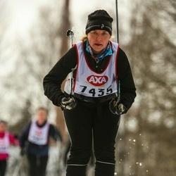 Skiing 45 km - Lotta Peterson (7435)