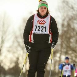 Skiing 45 km - Lotta Rudh (7221)
