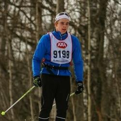 Skiing 45 km - Niclas Von Seth (9198)
