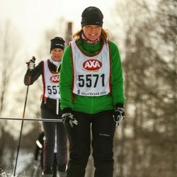 Skiing 45 km - Maria Andersson (5571)