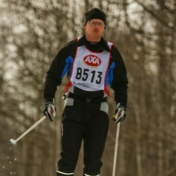 Skiing 45 km - Mikael Holst (8513)