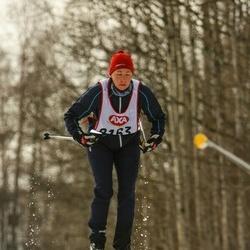 Skiing 45 km - Monica Warverud (8163)