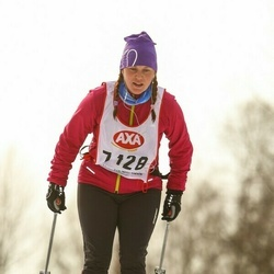 Skiing 45 km - Emelie Eriksson (7128)