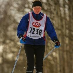 Skiing 45 km - Lovisa Lundberg (7238)
