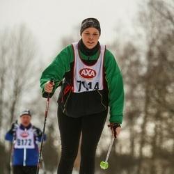 Skiing 45 km - Camilla Monlars (7114)