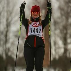 Skiing 45 km - Helene Yxhammar (7447)