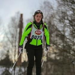Skiing 45 km - Amanda Ståhl (8070)
