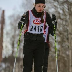 Skiing 45 km - Kristine Overgaard (2418)