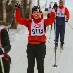 Skiing 45 km - Janne Friberg (9113)