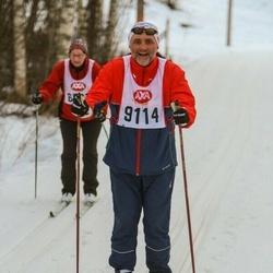 Skiing 45 km - Hans Martin Stadheim (9114)