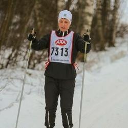 Skiing 45 km - Christina Cederquist (7313)