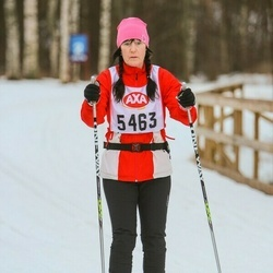 Skiing 45 km - Mari Jepsen (5463)