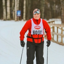 Skiing 45 km - Carina Andersson (6031)